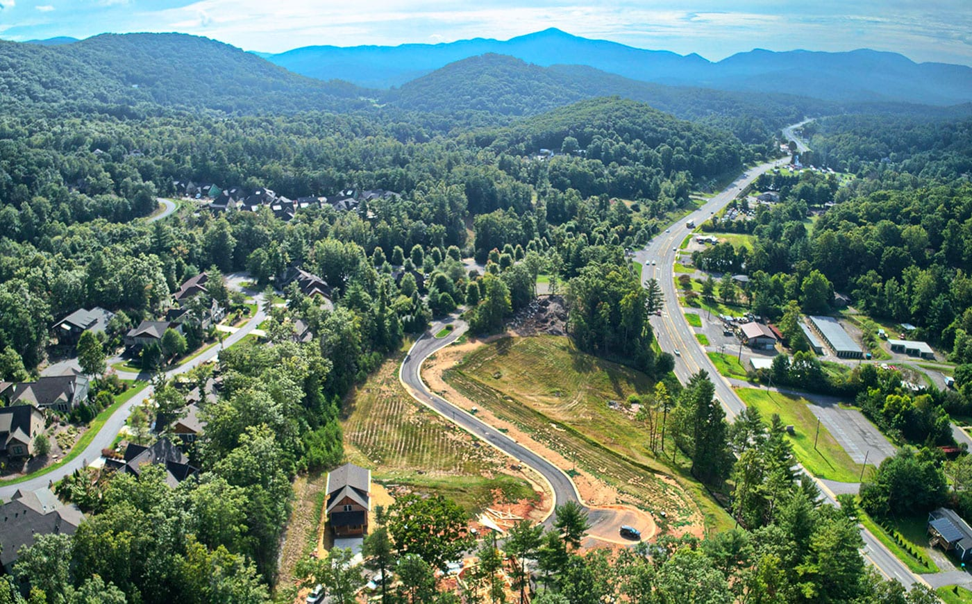 Fairview, NC Property Arial View